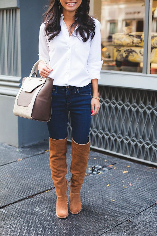 The Best Over-The-Knee Boots For Petites | OTK boots | Pinterest ...