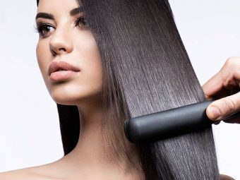 Hair Straightening Vs. Hair Smoothing Differences, Side