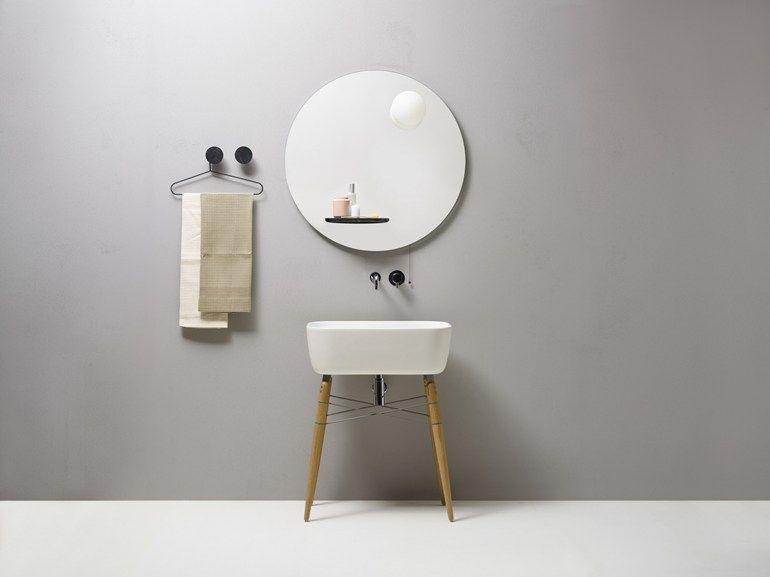 Bagno semplice ~ Specchio rotondo a parete per bagno float by ex t mirror