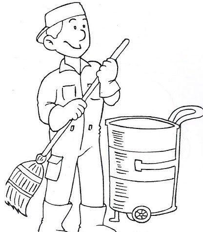 Meslekler Boyama Sayfalari 4 Okul Oncesi Etkinlik Faaliyetleri