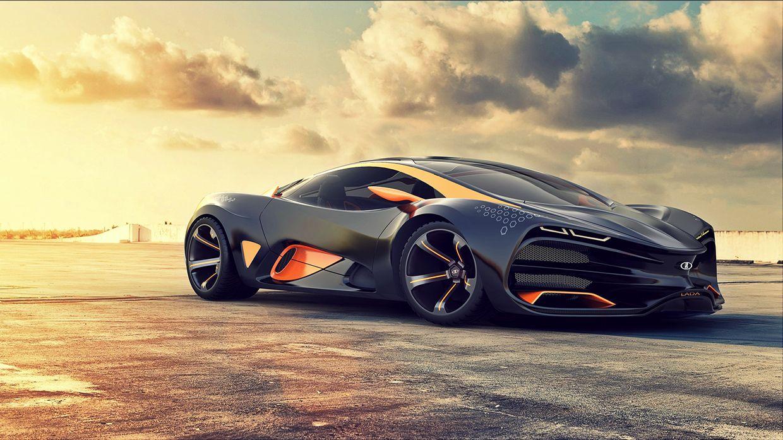 lada raven concept car фото видео