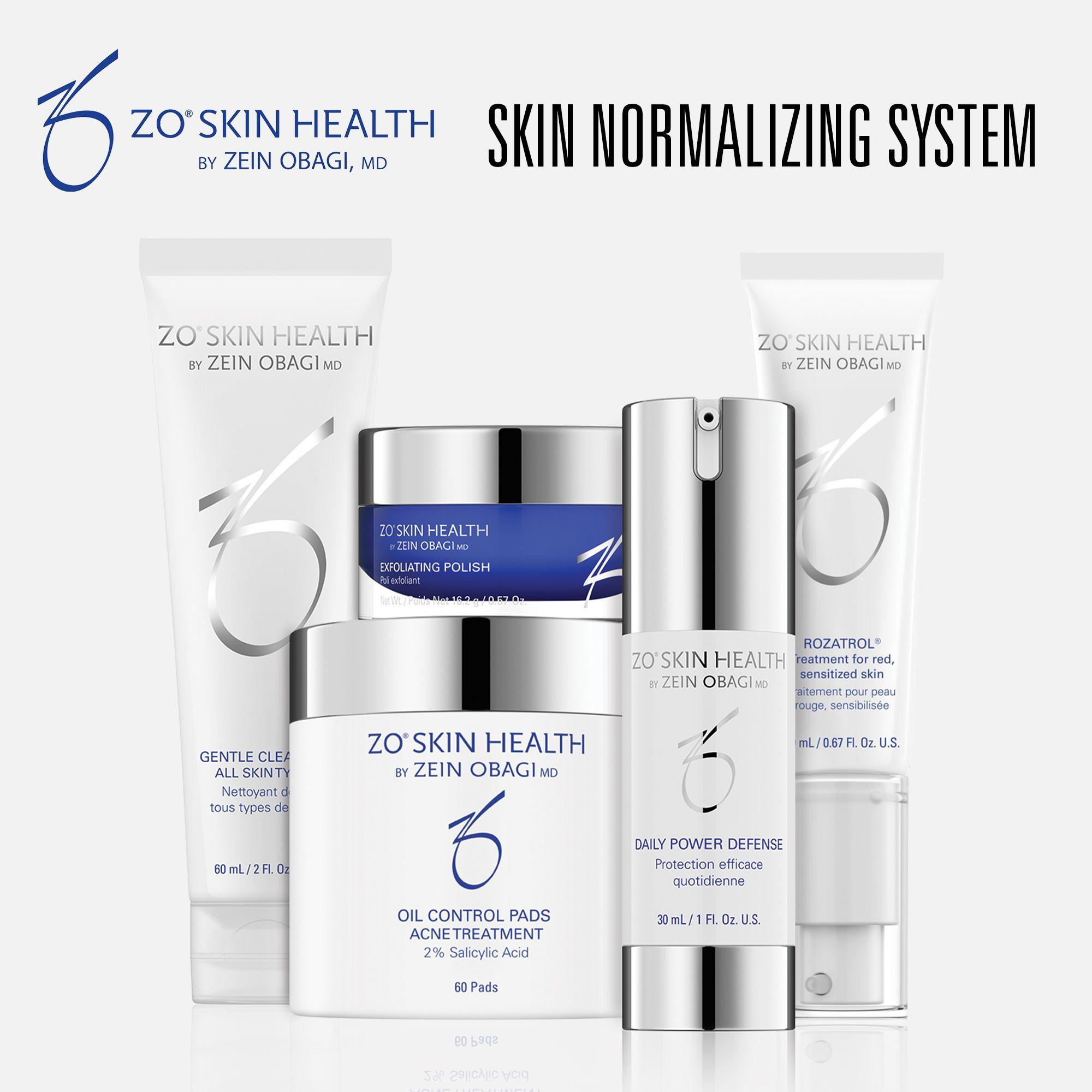 Zo Skin Health Skin Normalizing System In 2020 Skin Health Medispa Restore Skin
