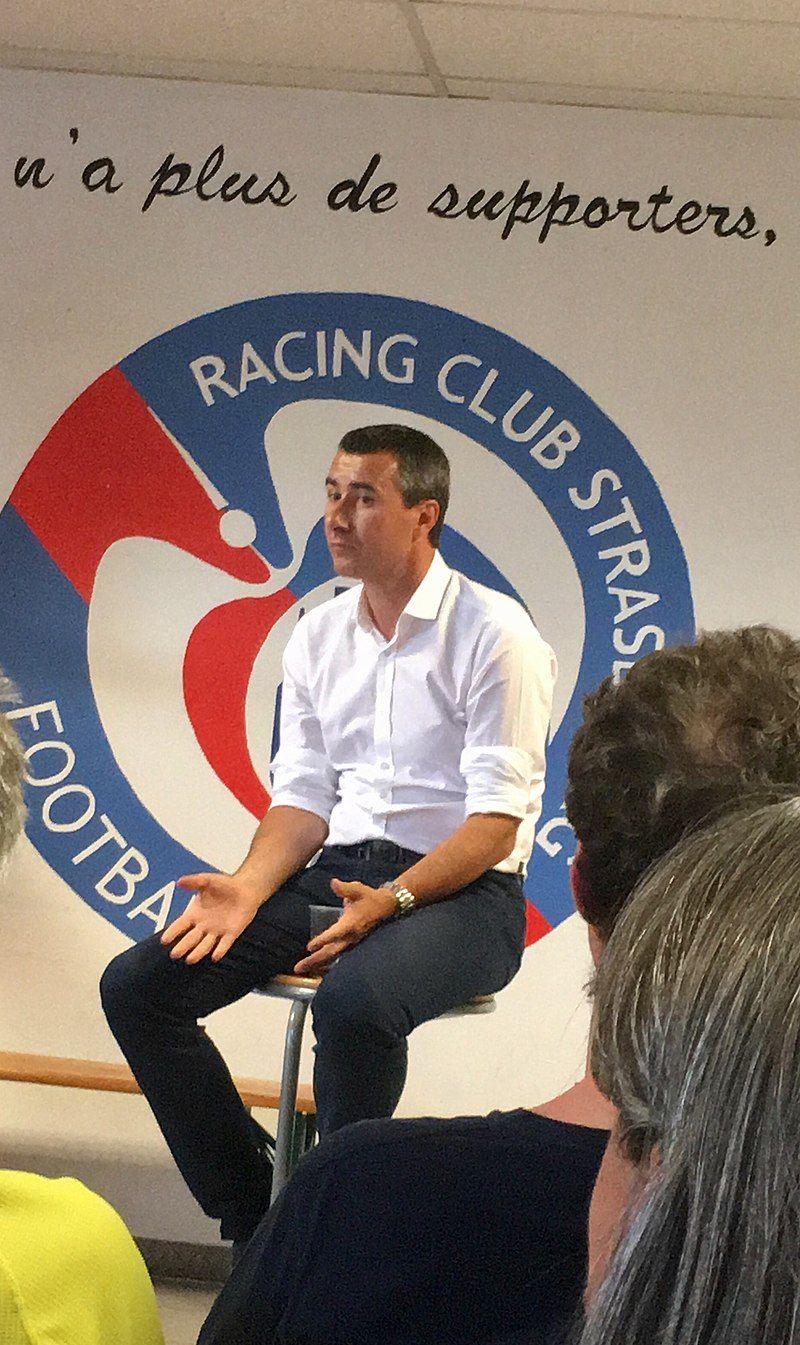Marc Keller président du RC Strasbourg Coupe de france