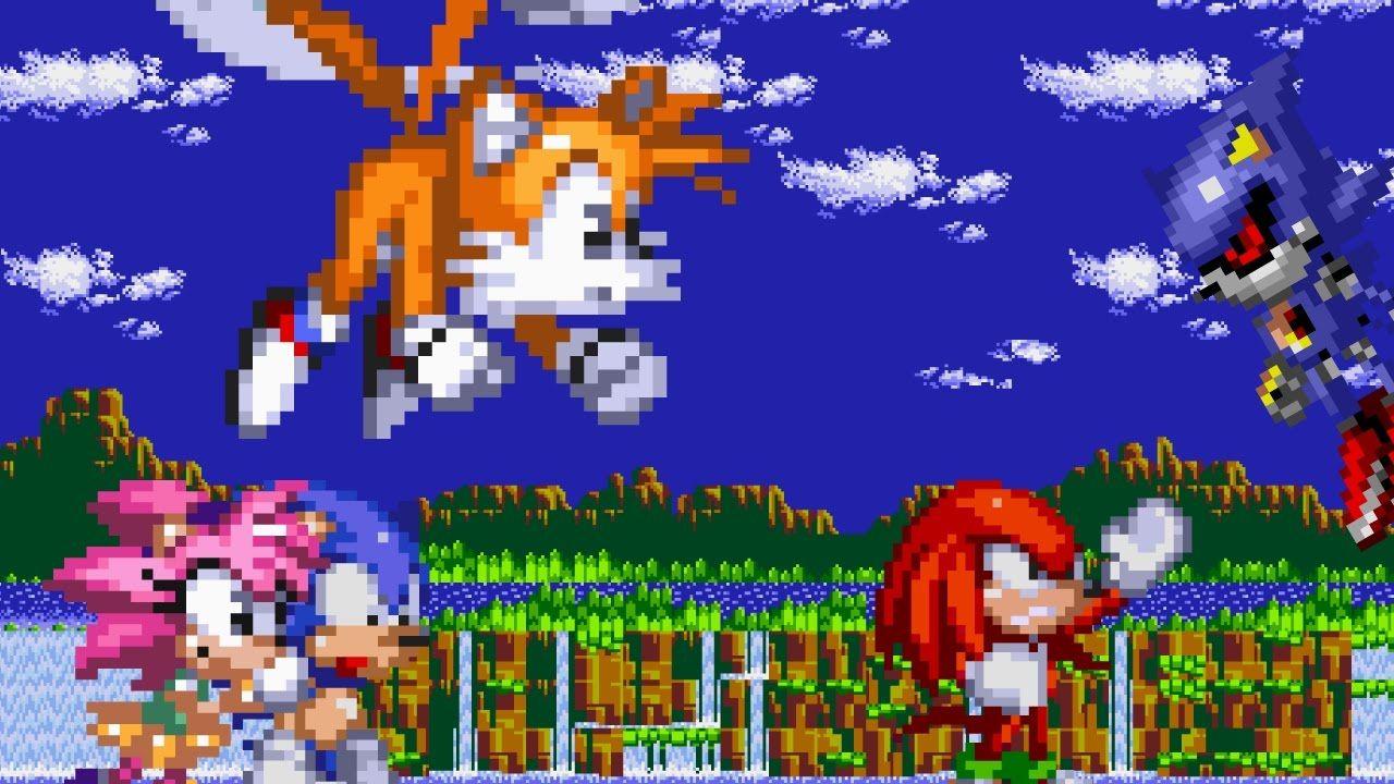 Tails CD #1 Palmtree Panic Zone : Sprite animation