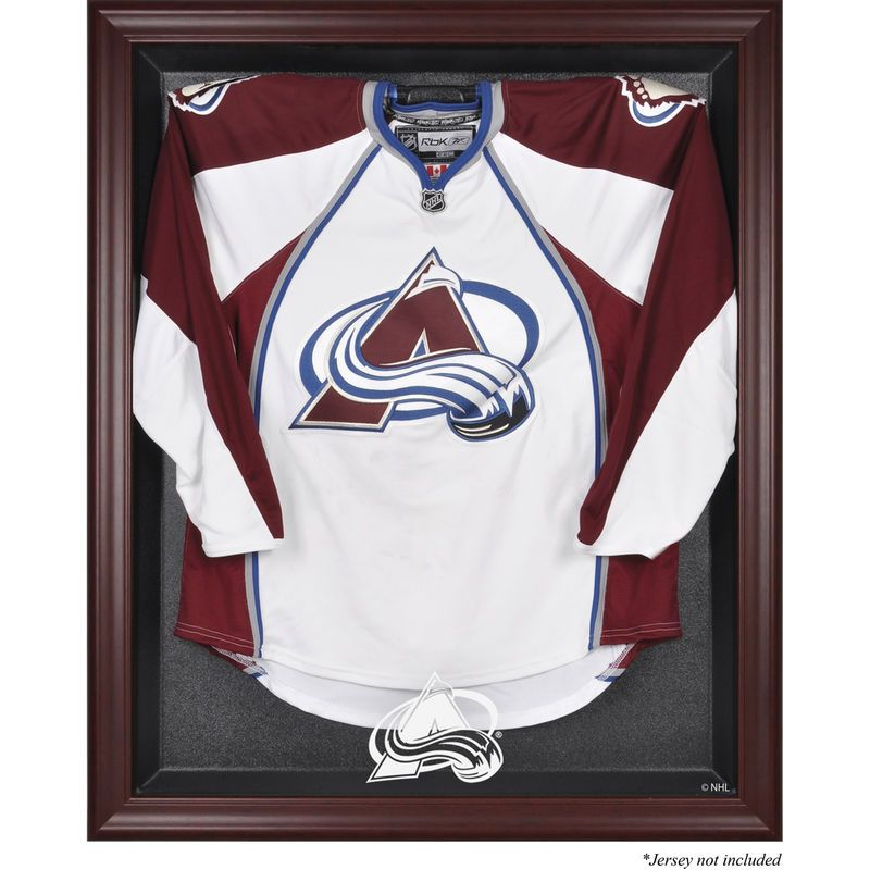 Colorado Avalanche Fanatics Authentic Mahogany Framed Jersey Display ...