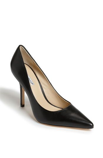 Wardrobe Basics: Classic Black Pumps (purchase a heel that's most comfortable for you).