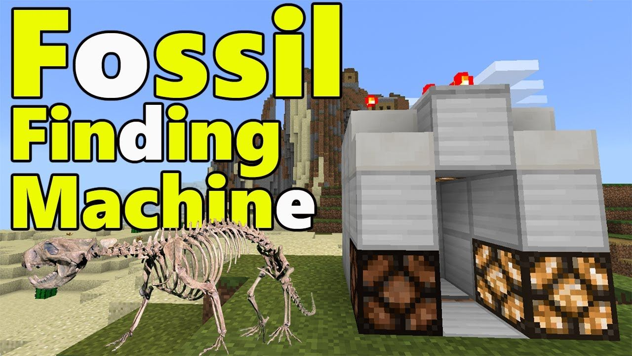 Fossil finding machine minecraft pe pocket edition mcpe 113 fossil finding machine minecraft pe pocket edition mcpe 113 and above baditri Image collections