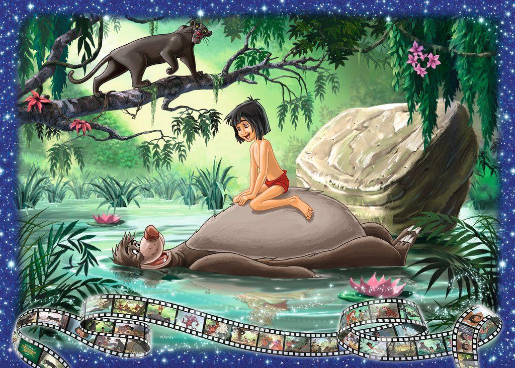 Dschungel Buch Erwachsenenpuzzle Puzzle Produkte Dschungel Buch Disney Dschungelbuch Puzzleteil Ravensburger Puzzle