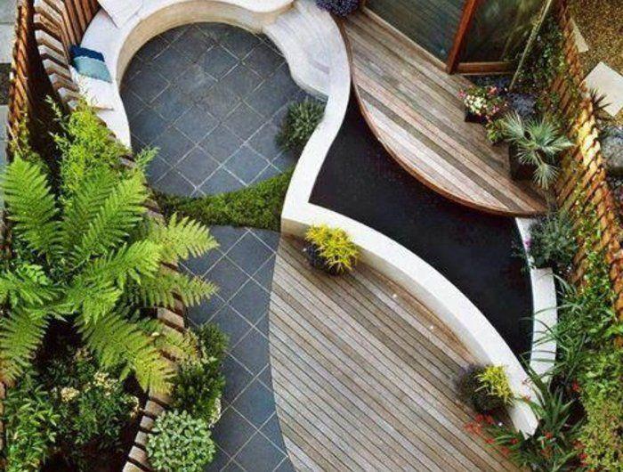 60 photos comment bien aménager sa terrasse? Pergolas and Spa - amenagement jardin avec spa