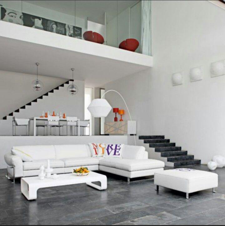 Doble altura Interiores casa Pinterest Lofts, Interiors and - hi tech loft wohnung loft dethier architecture