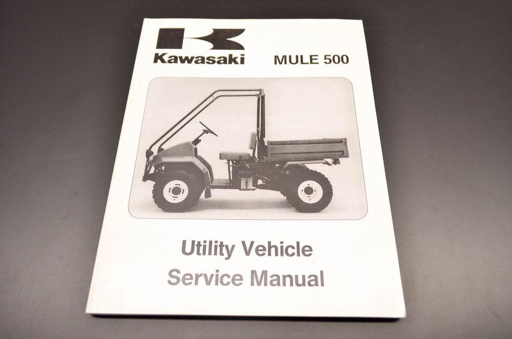 New OEM Kawasaki Mule 500 Service Manual NOS | eBay Motors