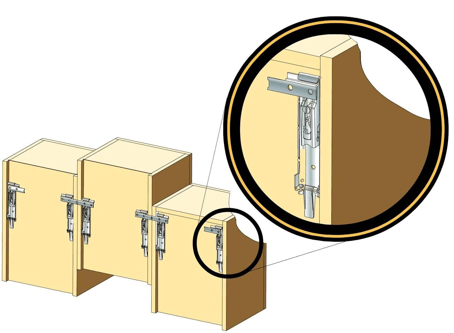 Wall Cabinet Hanging Hardware | http://betdaffaires.com | Pinterest ...