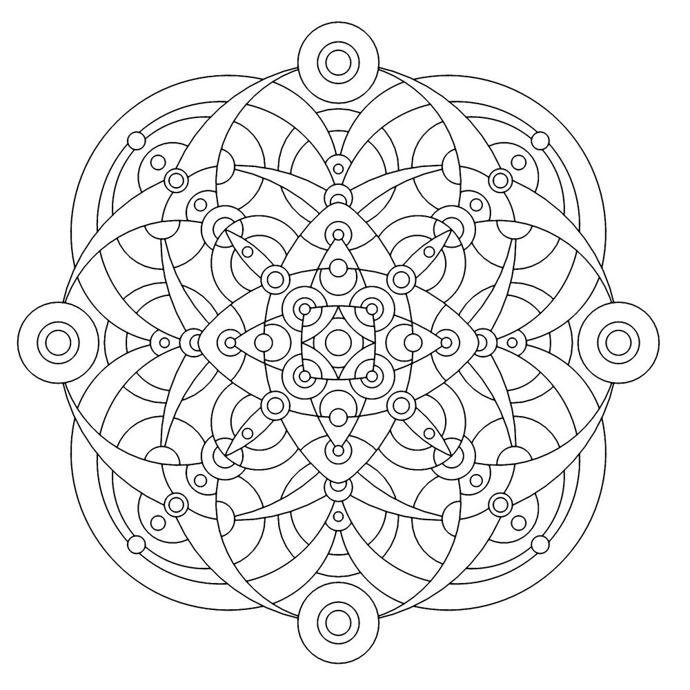 Pin by Kevin Scott on Mandala Coloring pages Mandala coloring