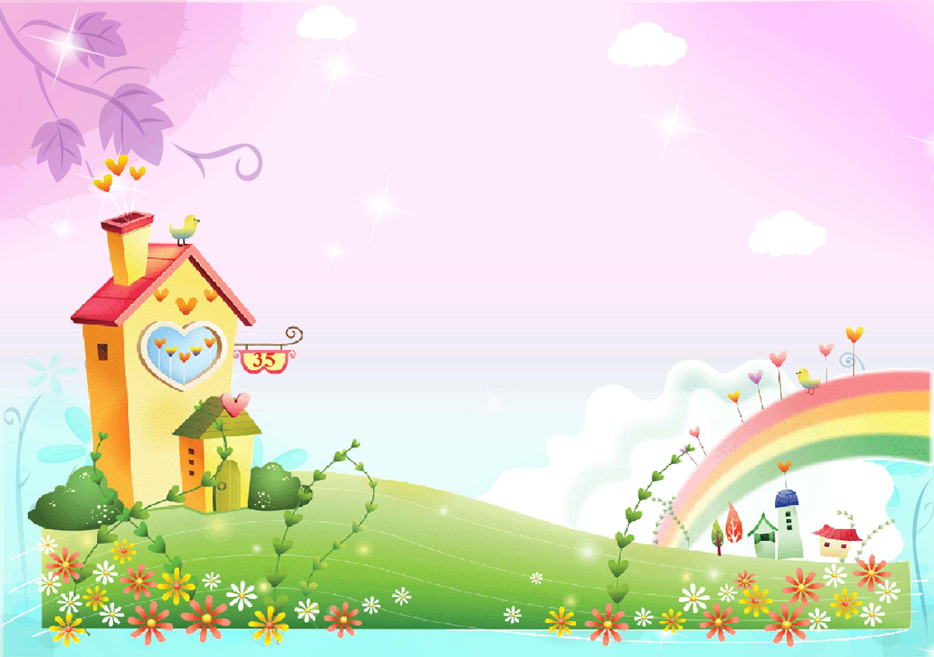 Скачать Красивые заставки и картинки для детского сайта ...