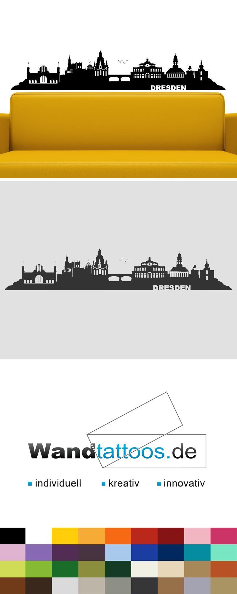 Wundervoll Skyline Dresden Sammlung Von Wandtattoo Als Idee Zur Individuellen Wandgestaltung. Einfach