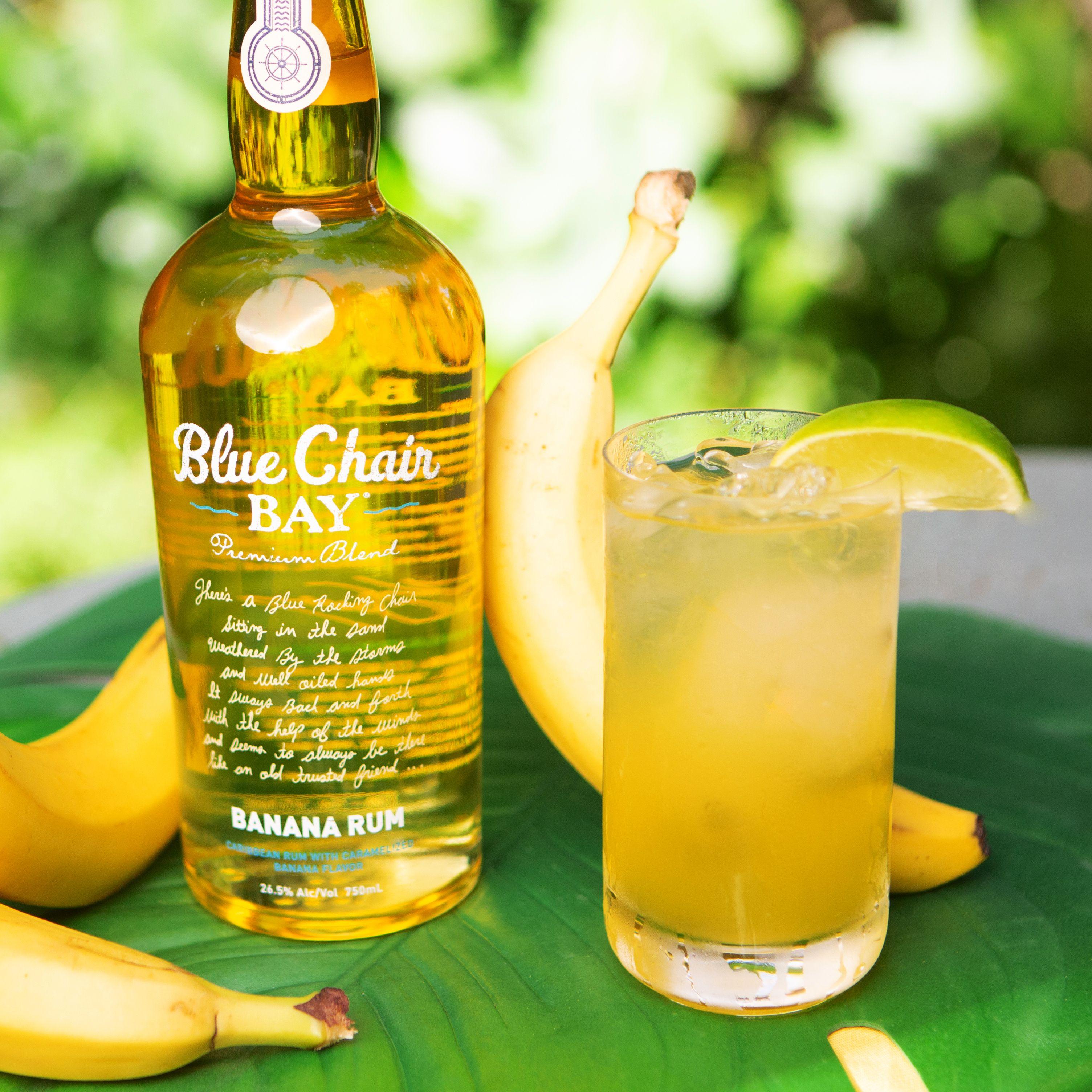 High Tide Recipe in 2020 Banana rum drinks, Lemonlime