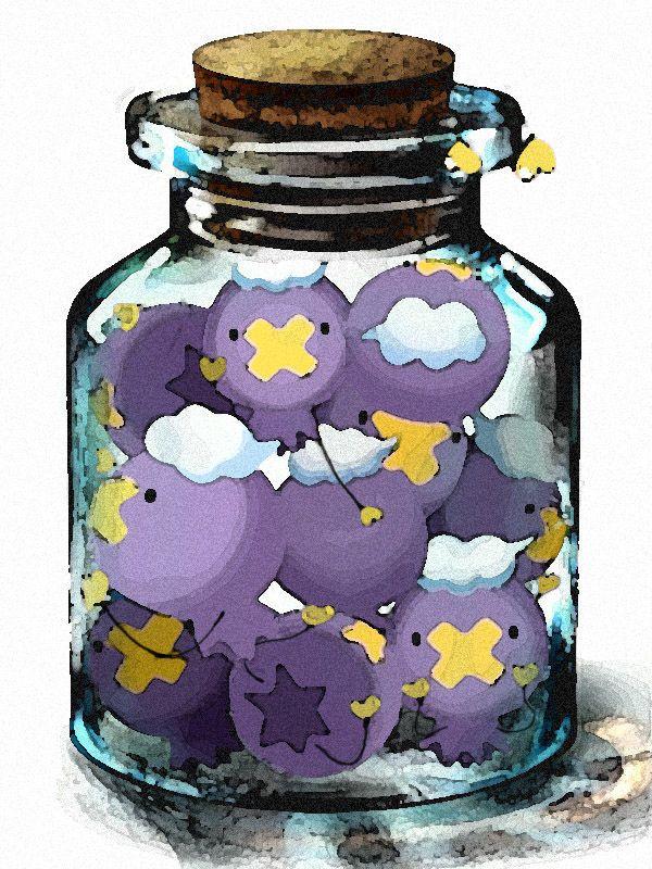 空のガラス瓶は何を入れて飾っても自由 Pixivではユーザー企画詰め
