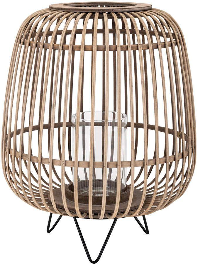 Imax Heston Small Bamboo Lantern 2020 Bamboo Lantern Large Bamboo Lantern Rattan Lamp
