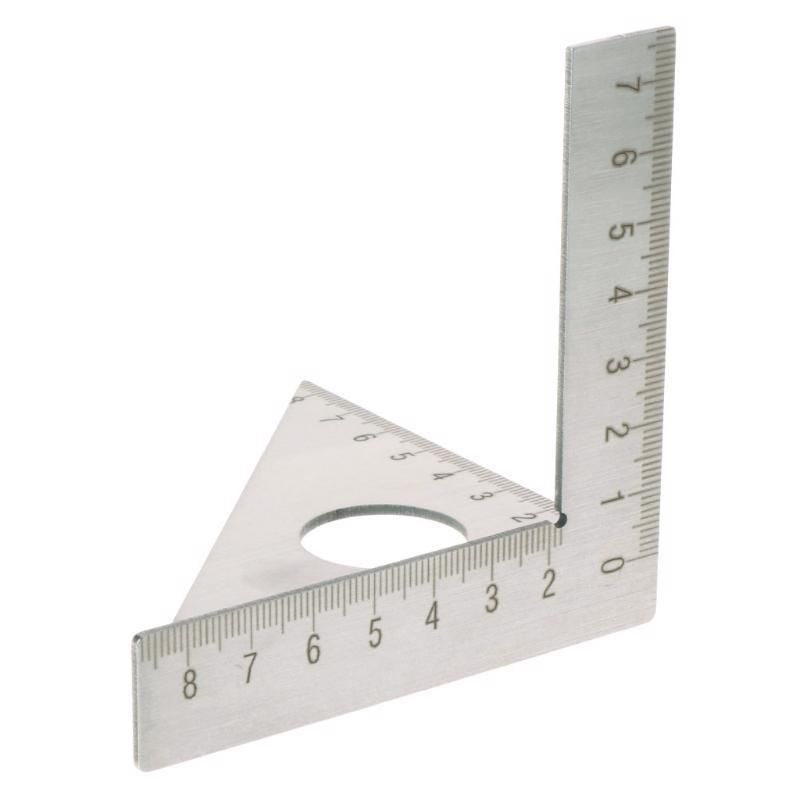 Stainless Steel Triangle Square Rafter Speed Square T And Tri Angle Square Tool Ootdty Square Tool Woodworking Ruler Angle Square