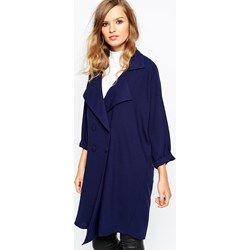 Abrigo holgado de The Laden Showroom X Mirror Mirror asos el-azul-marino  Poliéster 4f4d29135539