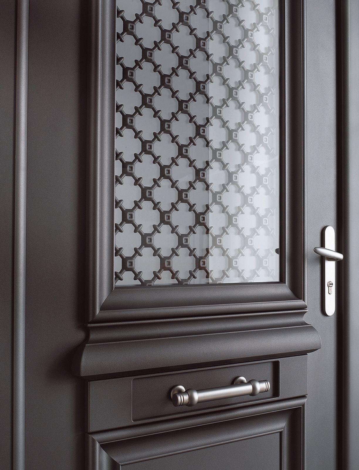 ath na porte d 39 entr e aluminium classique mi vitr e bel 39 m porte pinterest ath na. Black Bedroom Furniture Sets. Home Design Ideas