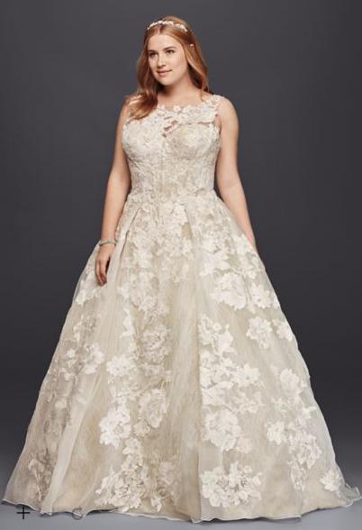 11 Plus Size Wedding Dresses That Are All Unique ...