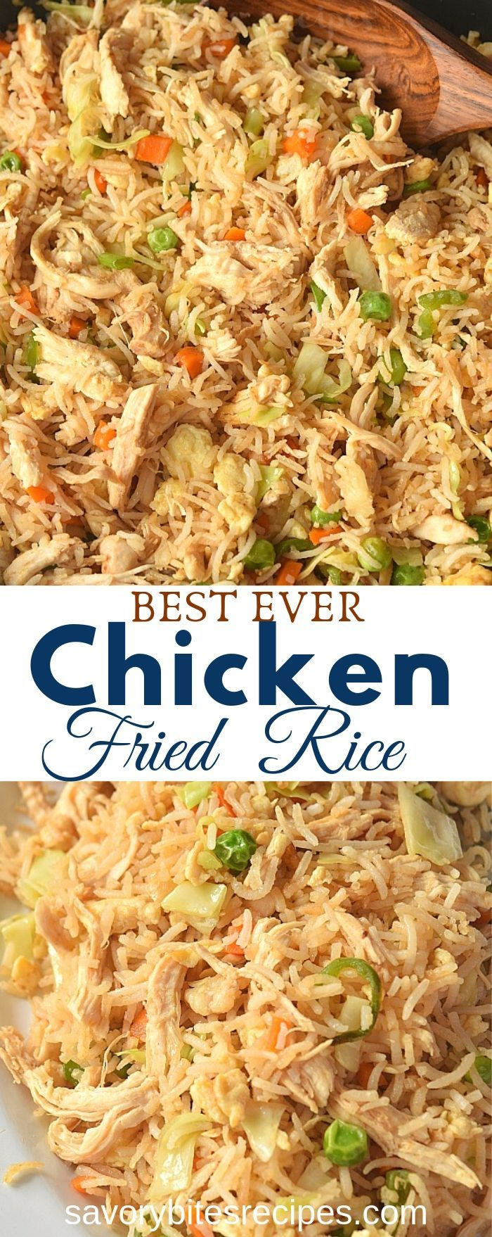 Better Than Takeout Chicken Fried Rice!