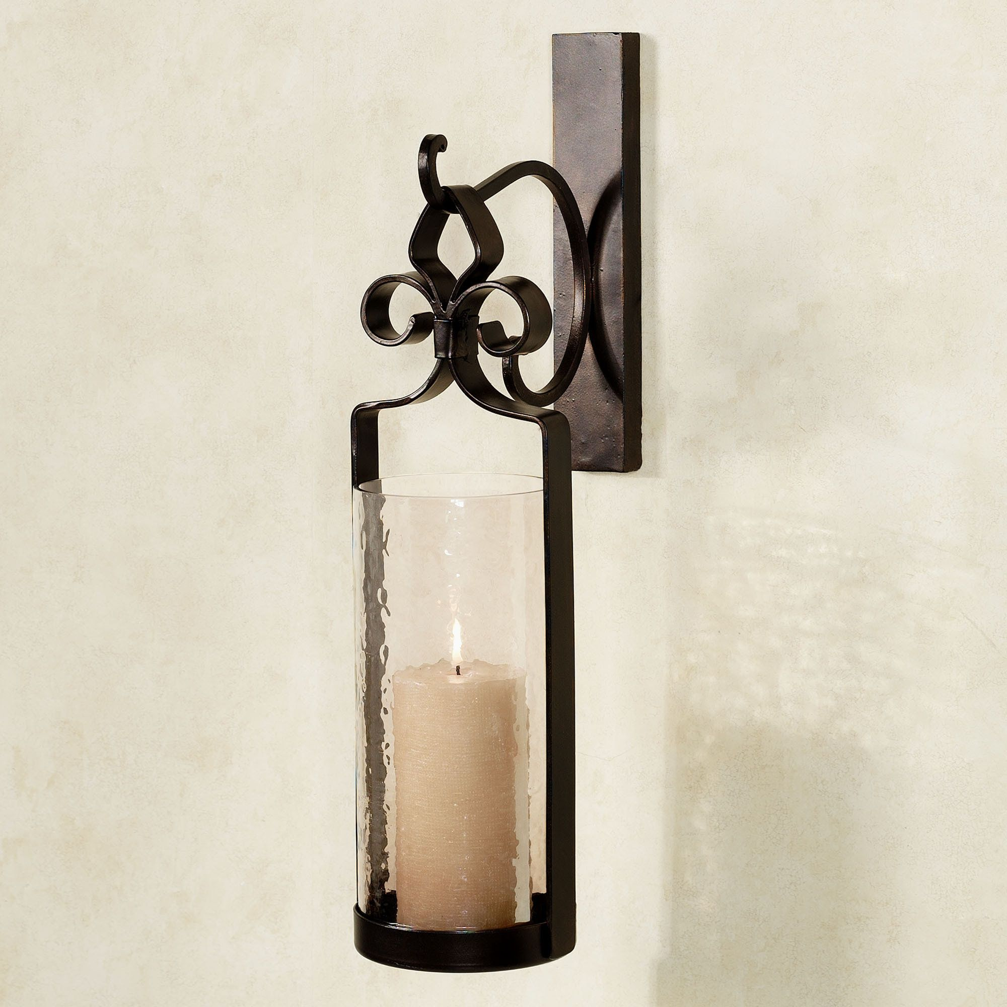 sconce l decor decorative wall mason holder jar candle sconces galleries wrought iron hanging