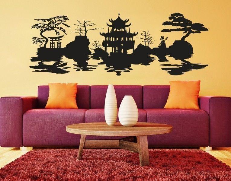 Wohnzimmer Tattoo ~ Asia für das wohnzimmer new house wandtattoos