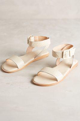 Fiel Punch-Dot Sandals Neutral Sandals