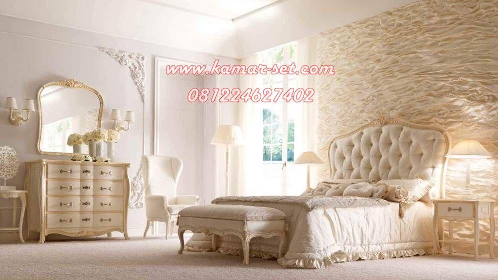 Desain Furniture Kamar Pengantin Model Klasik Modern Set