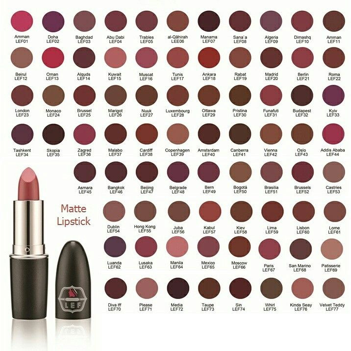 ارواج ليف مات السعر 55 للطلب 0509349125 نعومي الخليج مكياج ليف ارواج Naomegulf Makeup Lefcosmetics Lipstick Makeup Eyeshadow Beauty