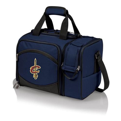 Cleveland Cavaliers Picnic Basket Set For 2 Wine Tote