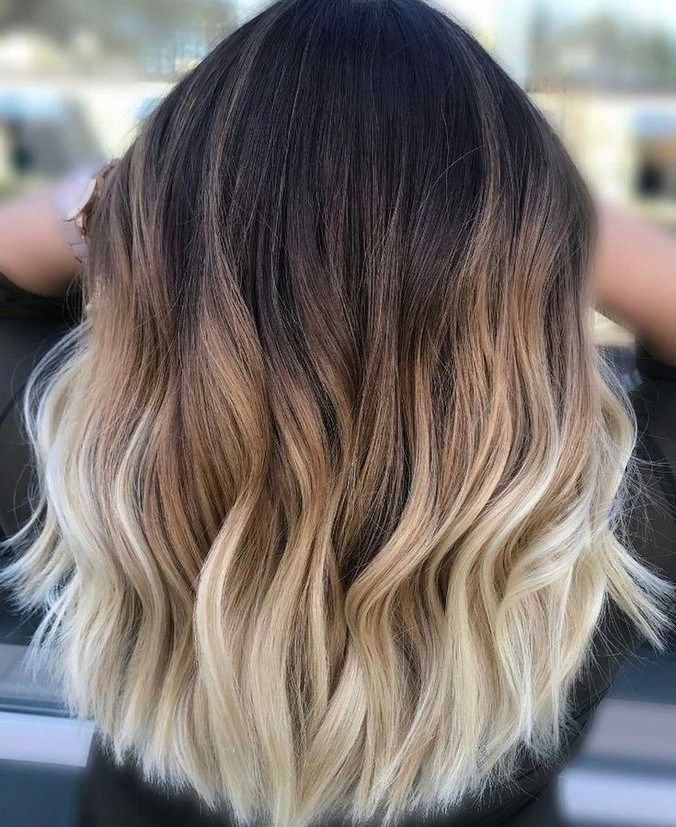10 medium to long hair styles ombre balayage hairstyles ideas for women 2019 52 -   15 hair Inspo balayage ideas