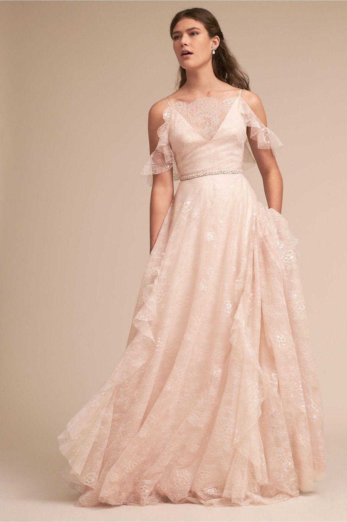 Ava Gown From Bhldn Blush Wedding Ideas Wedding Dresses Wedding