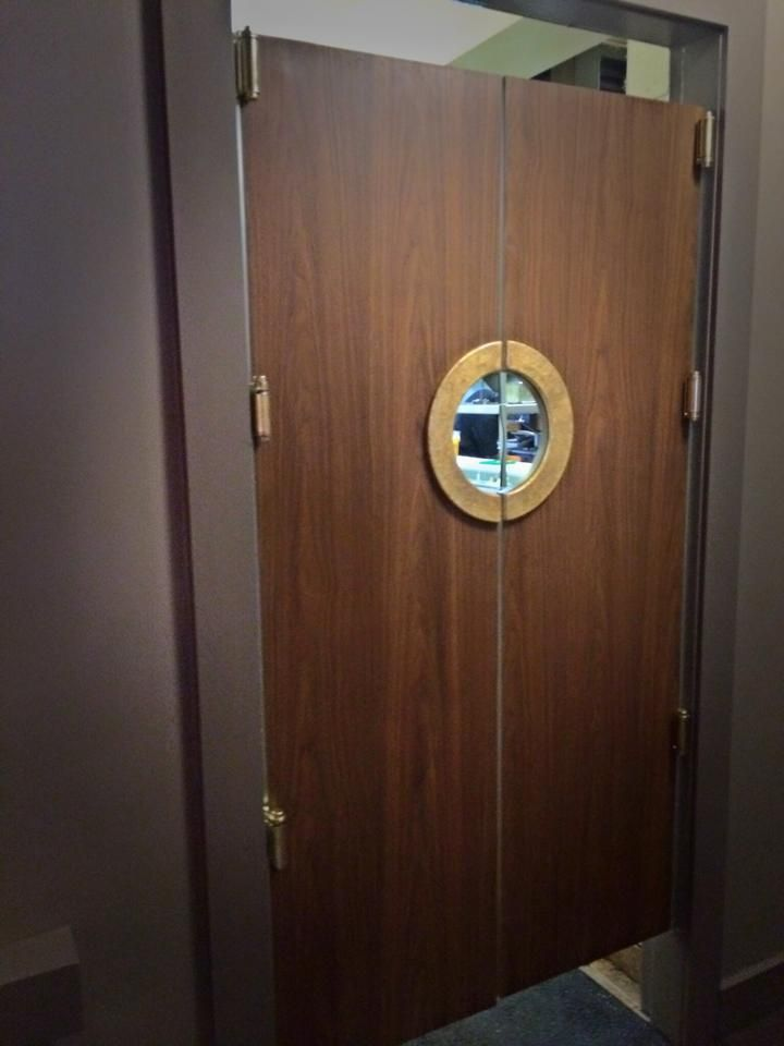Image Result For Swinging Porthole Doors
