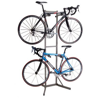xport bikes aloft 2 storage rack bike indoor storage - Indoor Bike Rack