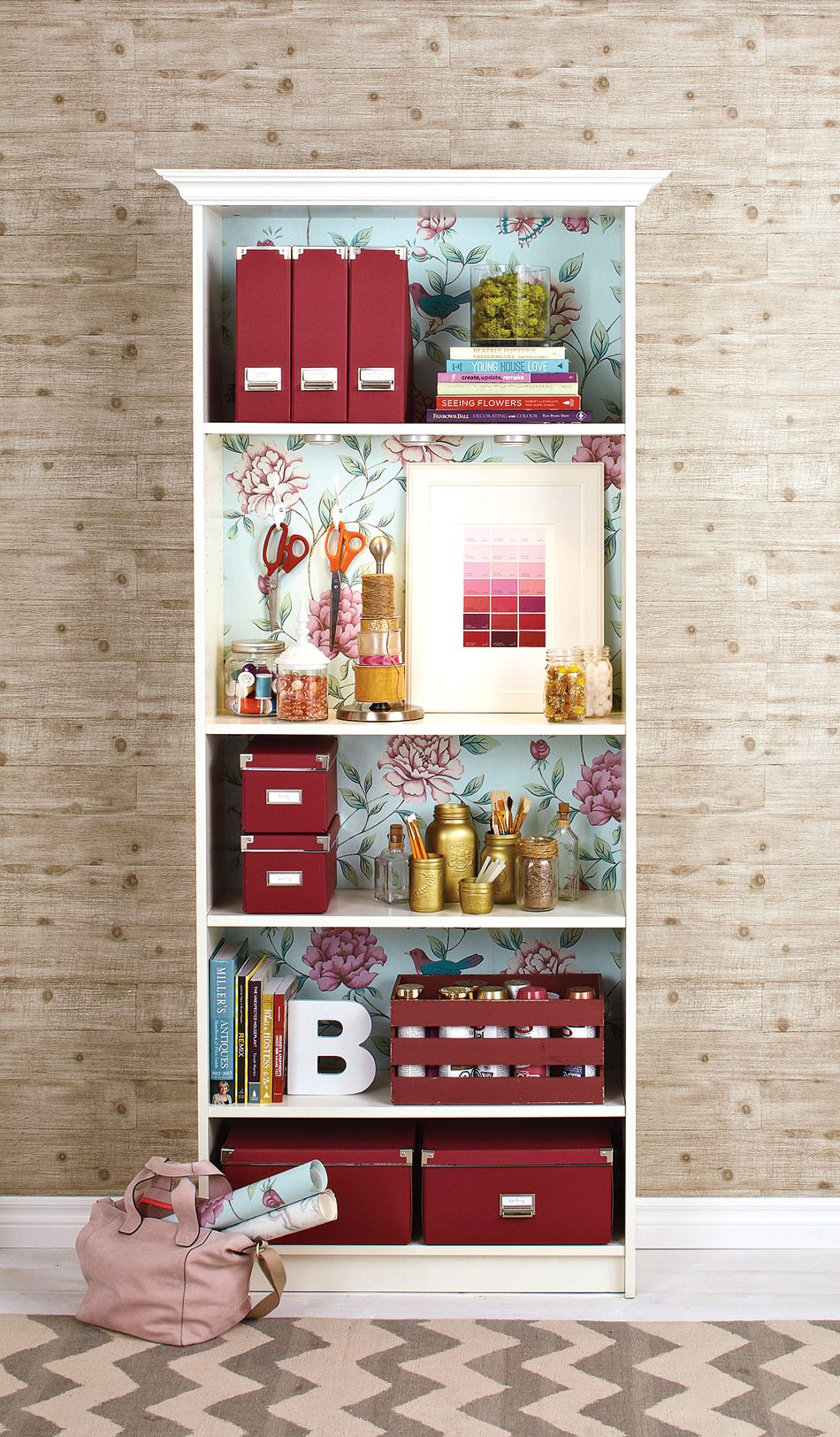 How to makeover your bookcase Our