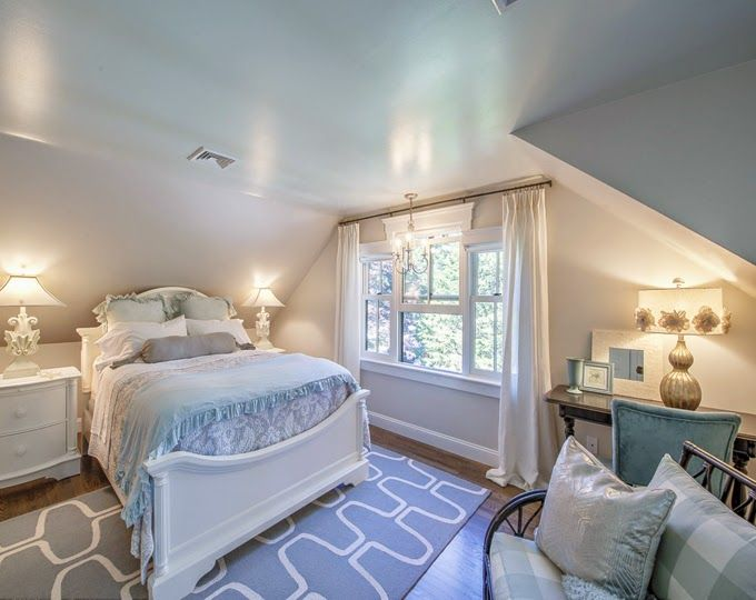 Merveilleux House Of Turquoise: Beautiful Cape Cod Home Cape Cod Bedroom, Attic Bedrooms,  Master