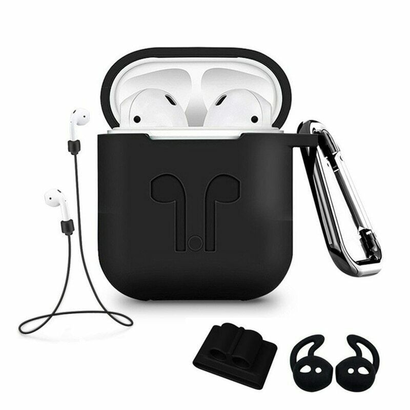 5pcs Set Silicone Wireless Bluetooth Earphones Case For Airpods Apple I10 I12 Tws Earbud Earphone Accessories Pr Earphone Case Bluetooth Earphones Apple Earbud