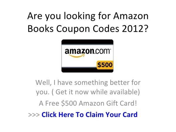 Amazon Books Coupon Codes 2012 Amazon Books Coding Coupons