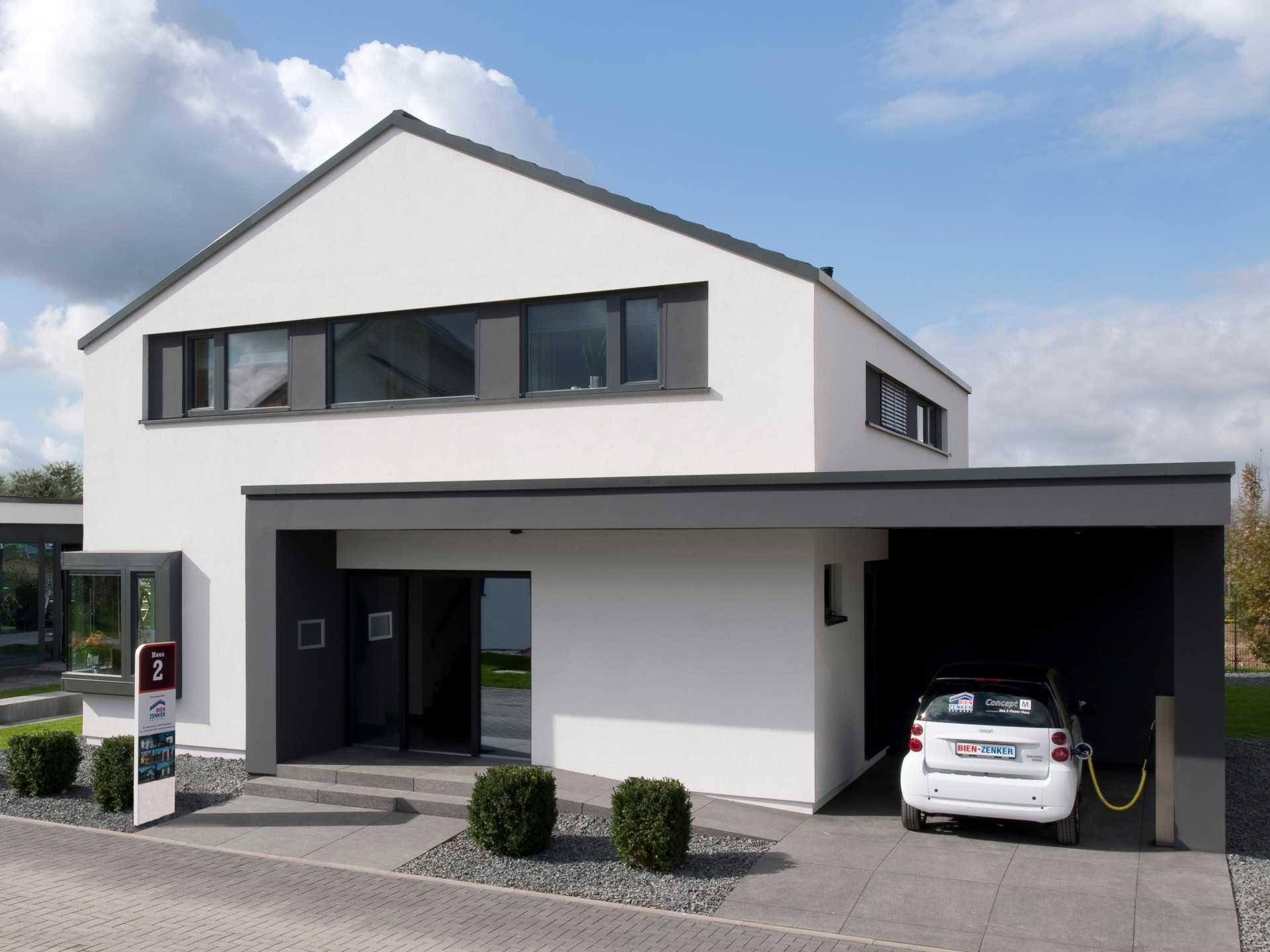 ^ Bildergebnis für fassadengestaltung einfamilienhaus modern ...