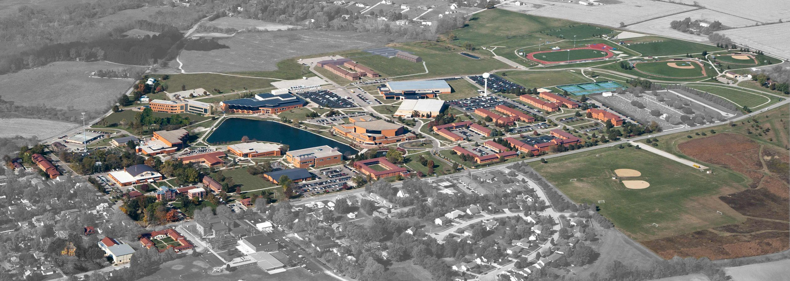 Here's a map of Cedarville University! (With images