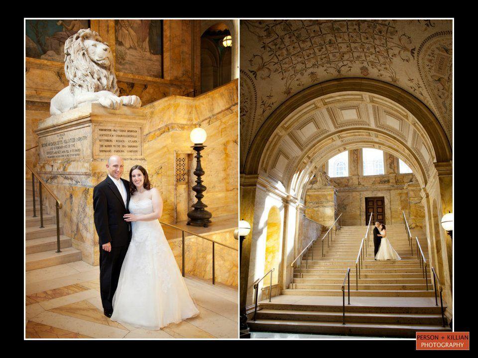 Boston Wedding Photography Event Public Library Venues