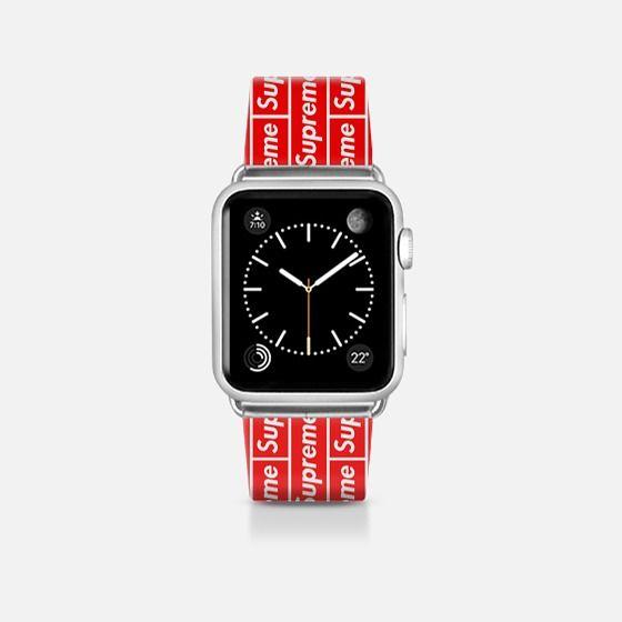Supreme X Apple Watch Supremenyc Preme Streetwear