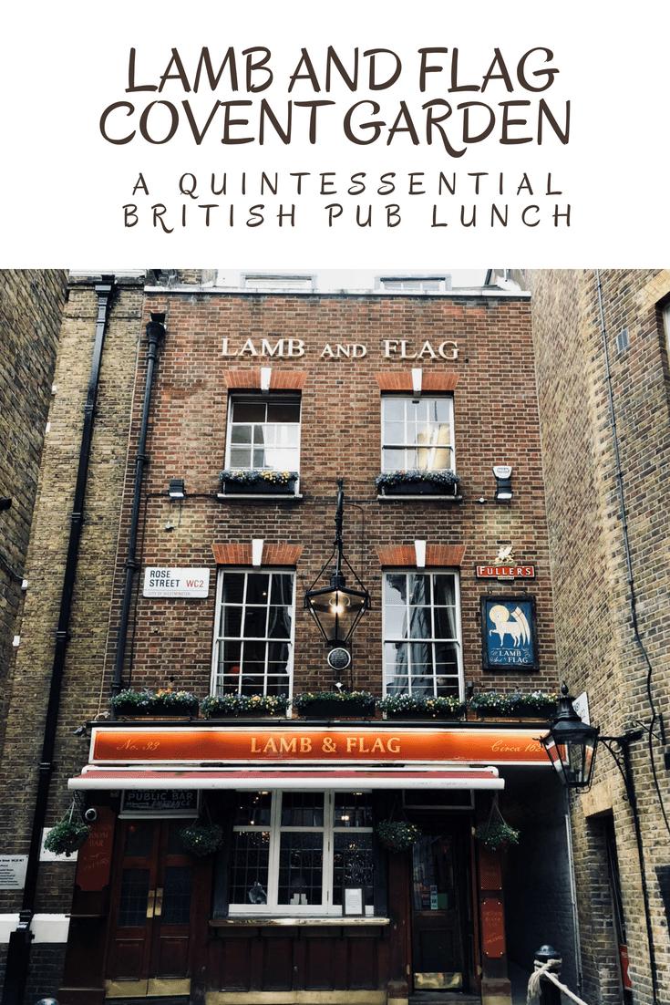 Lamb And Flag Restaurant In Covent Garden London London Dream Travel Destinations London Travel
