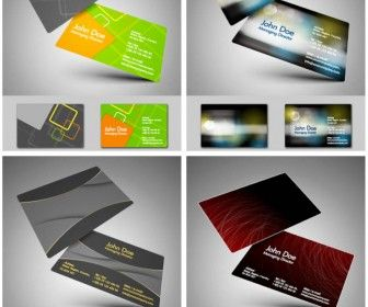 Business card vector free vectors images in eps and ai business card vector reheart Image collections