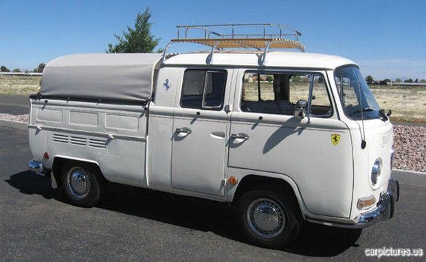 1968 Volkswagen Type 2 Double-Cab Pickup Truck
