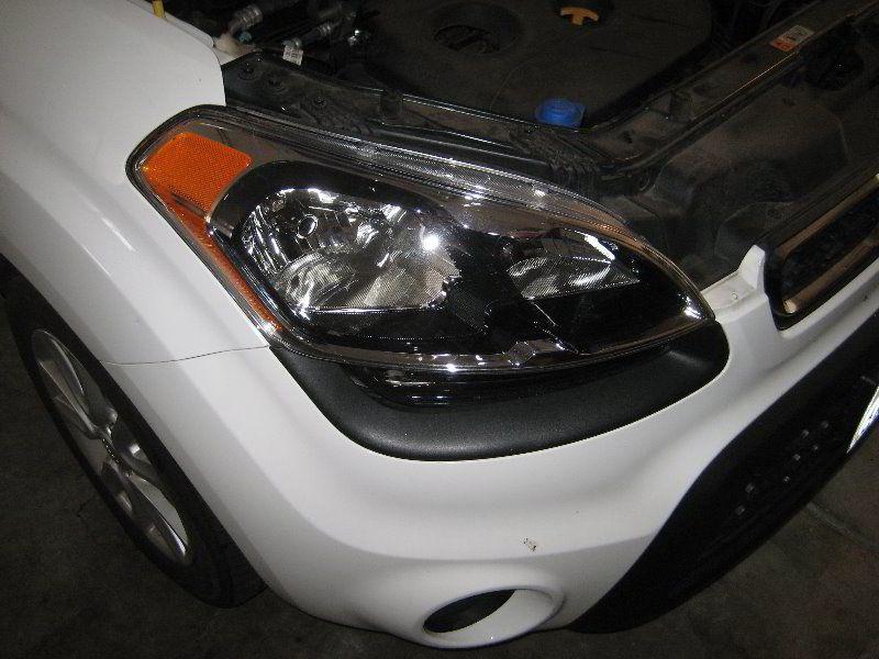 Kia Soul Headlight Housing Changing Bulbs Automotive Kia Soul Headlight Bulb Replacement I Headlight Bulbs