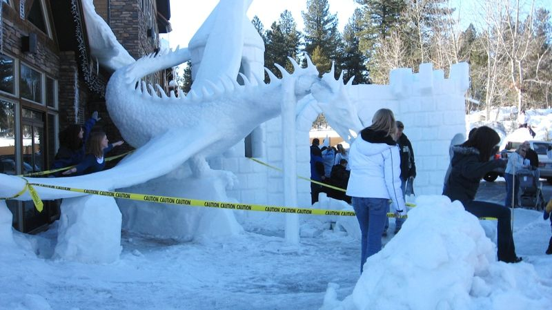 Mccall Winter Carnival 2020.Winter Carnival 2011 Ice Sculptures Outdoor Sculpture